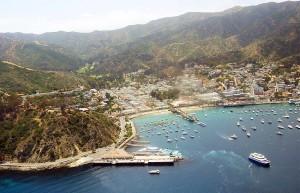 Boating to Catalina Island